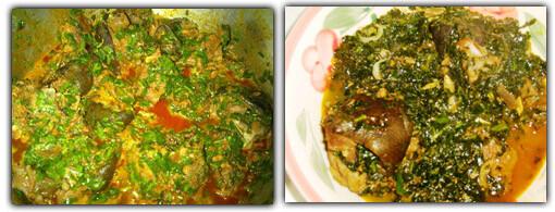 Nigerian Edikaikong soup