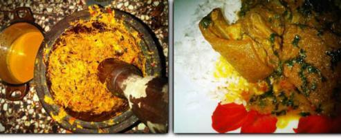 Nigerian banga stew