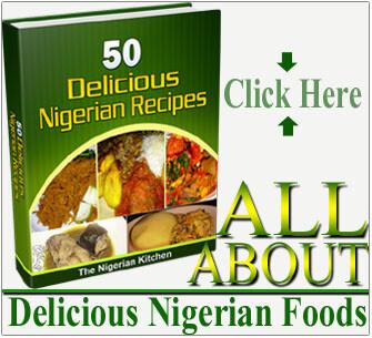 Nigerian desserts