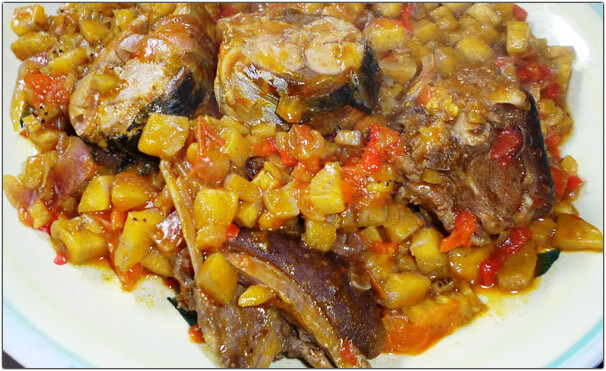 Porridge plantain