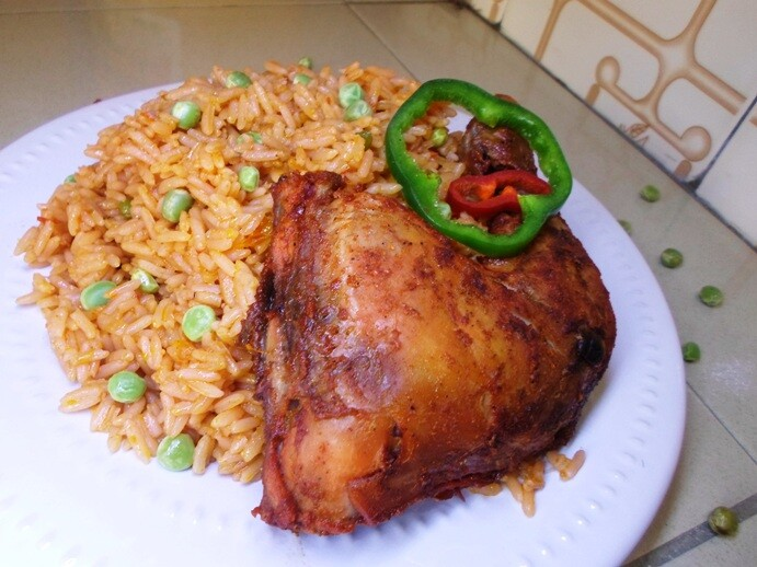 Jollof rice in Nigeria
