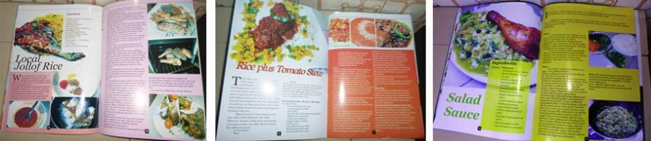 Inside rice book