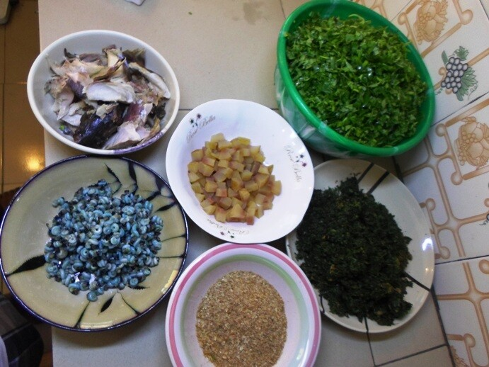 Making afang Soup
