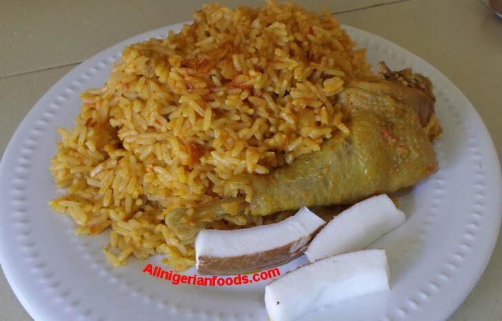 Cocoanut rice