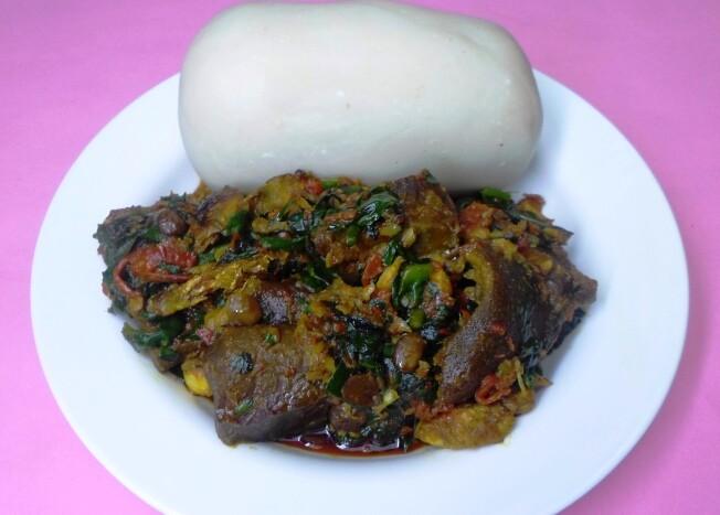Efo Riro Soup/Stew