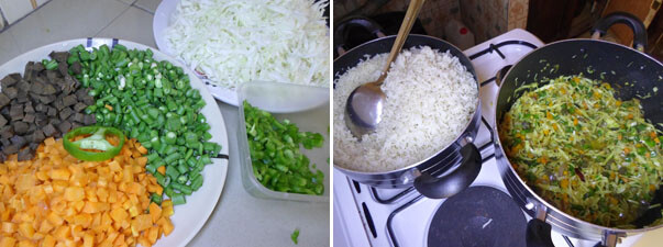How to make fried rice cook nigerian foods making fried rice ccuart Gallery