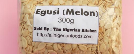 Egusi (Melon Seeds)