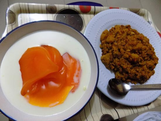 beans and akamu