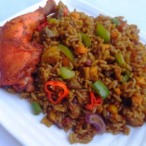 Caribbean rice recipe