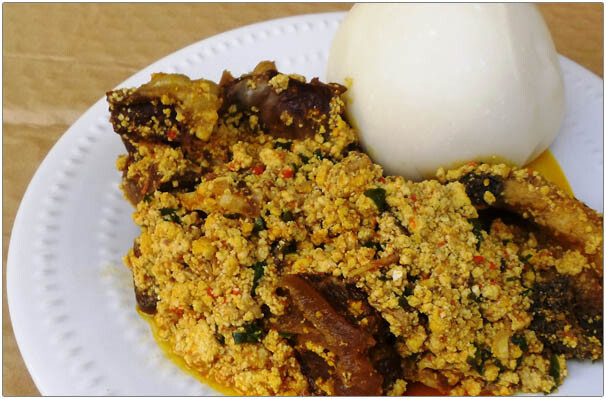 egusi and fufu