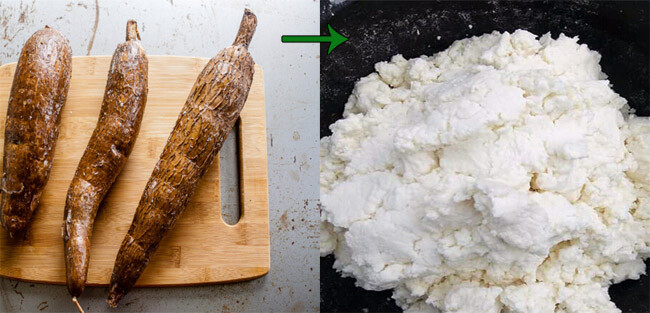 how fufu is made