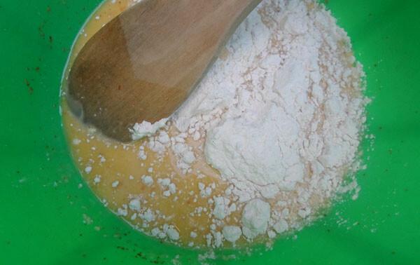 making pancake