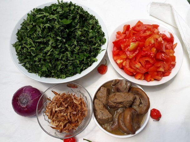 Vegetable sauce ingredients