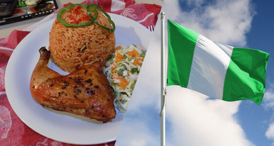 National Dish of Nigeria