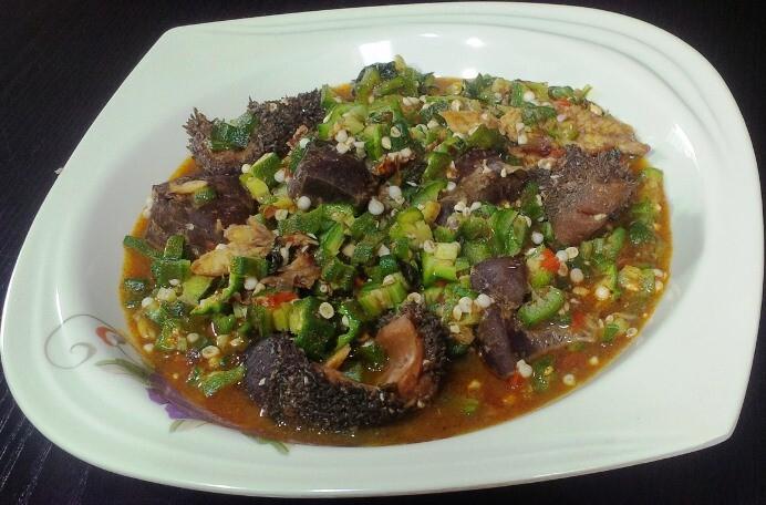 Okro Peppersoup
