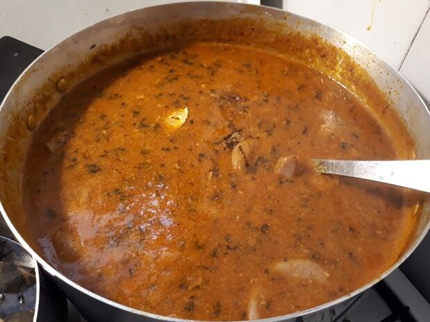 pot of ogbono soup