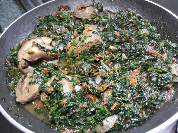 Nigeria vegie stew
