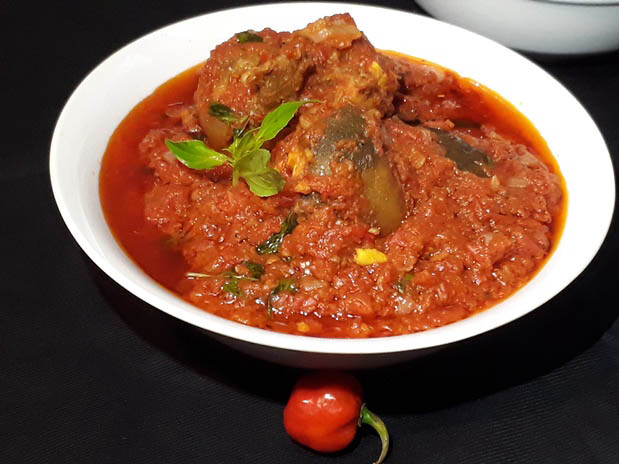 Nigerian tomato stew