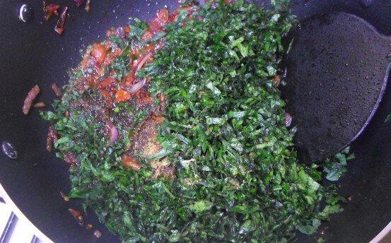 Vegetable sauce making