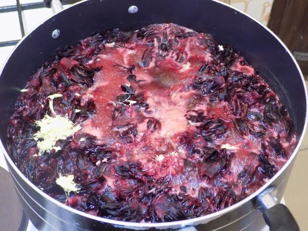 making zobo
